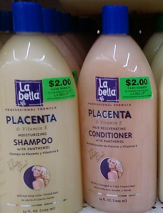 Placentashampoo